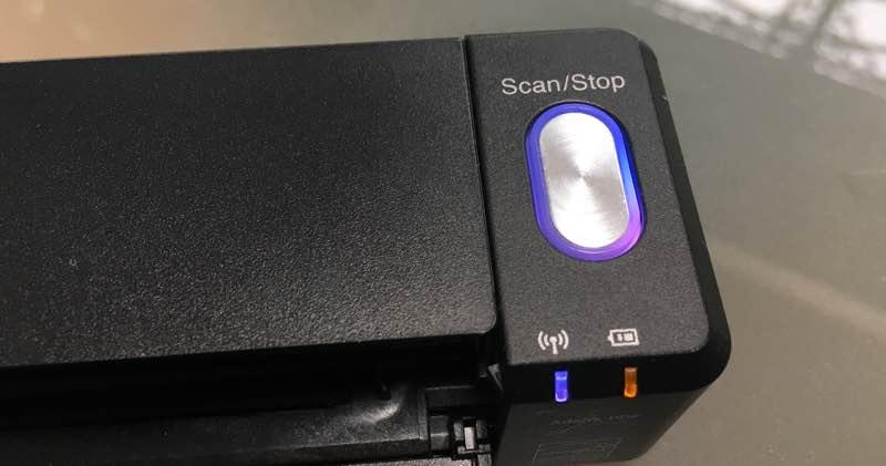 ScanSnap Cloud Purple Light