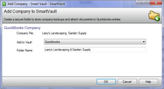 SmartVault add company