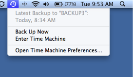 Time Machine Finished?